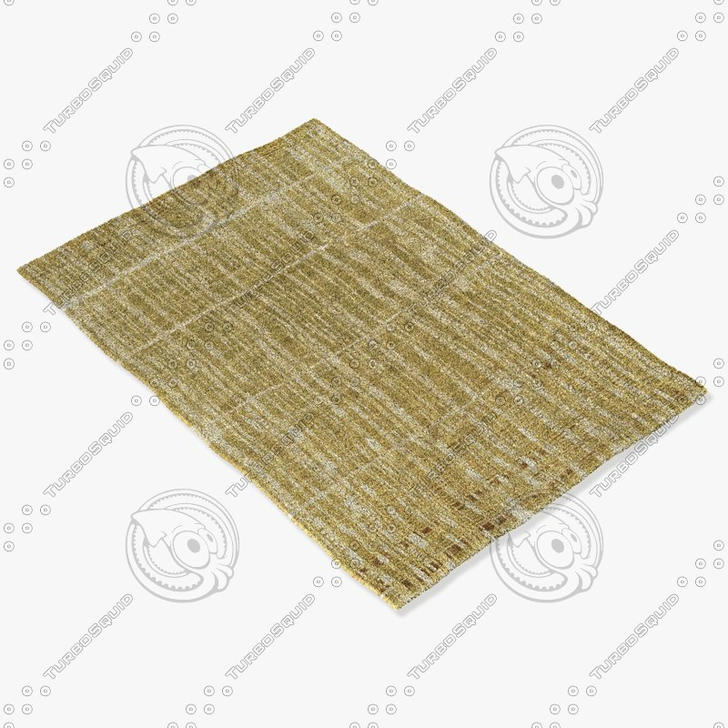 loloi rugs he-03 amber 3d obj