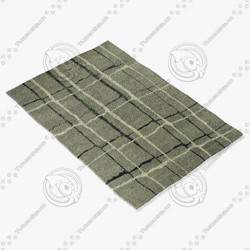 3d loloi rugs he-11 silver