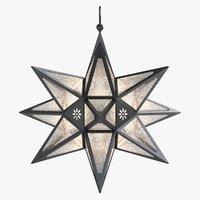 3d model star lantern