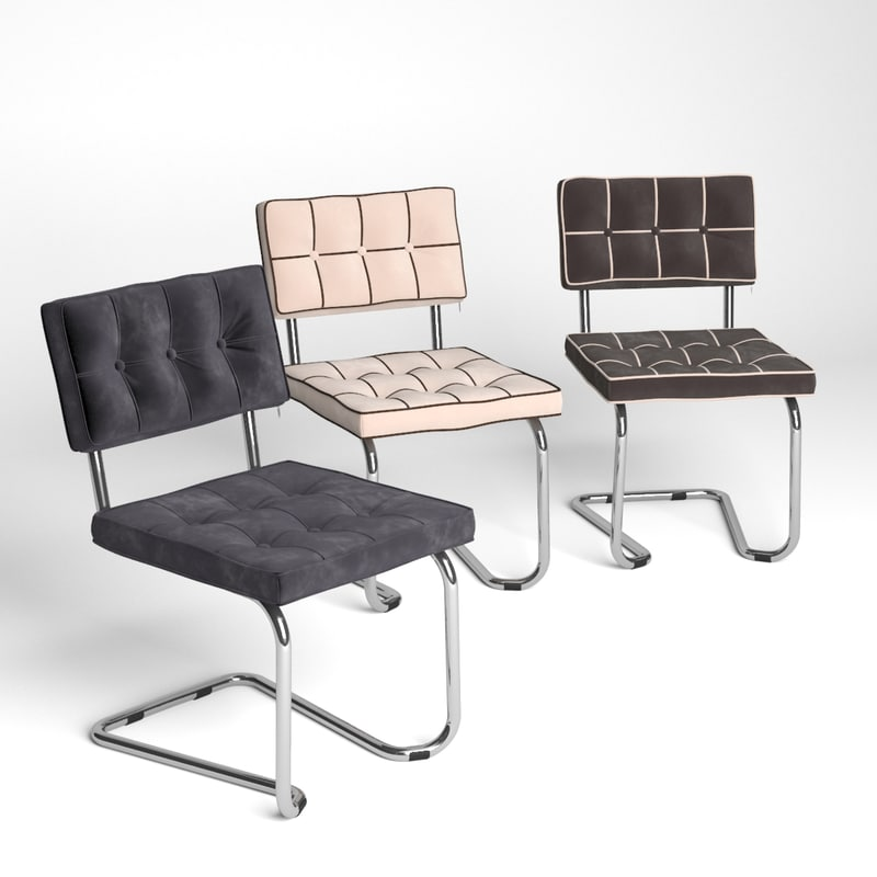 3d chair expo square model