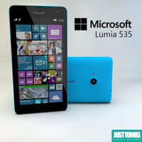 microsoft lumia 535 3d 3ds