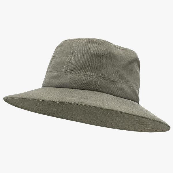 3d fishing hat