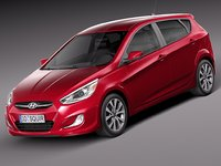 Hyundai Accent Hatchback 5-door 2015