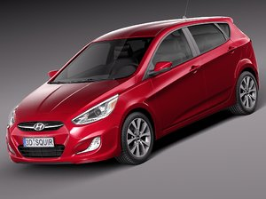 3d 2015 hatchback 5-door
