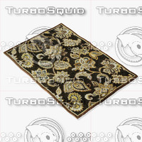 3d loloi rugs hl-03 chocolate