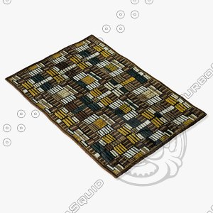 loloi rugs hl-04 brown 3d max