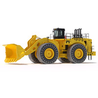 Wheel Loader 994F with chain protections