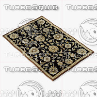 loloi rugs hl-09 black 3d 3ds