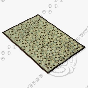 3ds max loloi rugs hl-14 ivory