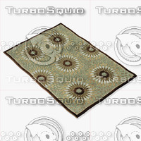 3d model loloi rugs hl-17 gray