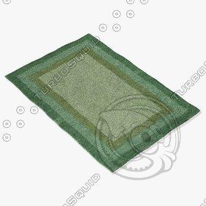 3d loloi rugs hn-01 fern