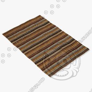 loloi rugs hr-04 multi 3d model
