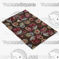 3d model loloi rugs jl-01 brown