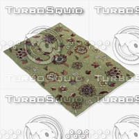 3d model of loloi rugs jl-02 green