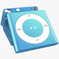 3ds max ipod shuffle blue