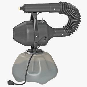 electric atomizer sprayer 3d model