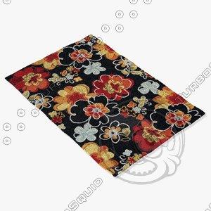 3ds loloi rugs jl-07 black