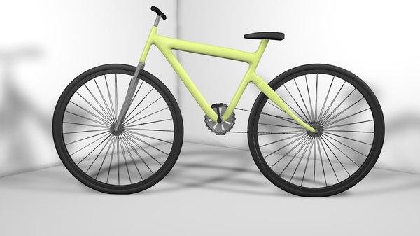 3d bike simple