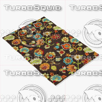 loloi rugs jl-22 brown 3d model