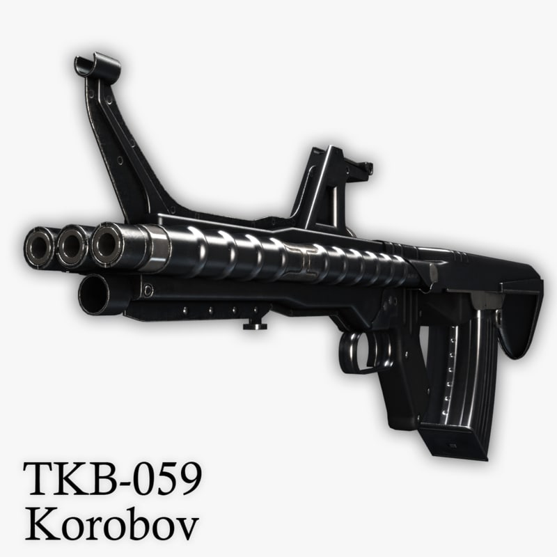 3ds tkb-059 assault rifle korobov