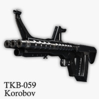 Korobov's Assault Rifle TKB-059