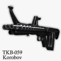 Korobov's Assault Rifle TKB-059