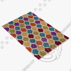 3d loloi rugs jl-27 rainbow