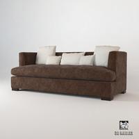 3d baker social scene sofa