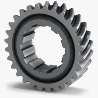 3ds max gear wheel c