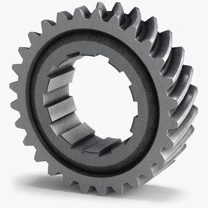 3ds max gear wheel c