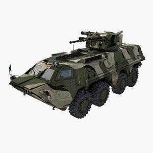 btr-4 bucephalus 3d model
