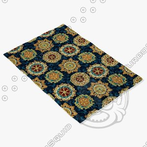 3ds max loloi rugs jl-33 navy