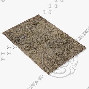 loloi rugs kn-01 beige 3d 3ds