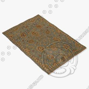 loloi rugs le-01 sterling 3d obj