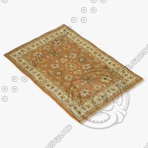 3d model loloi rugs le-03 adobe