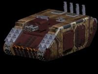 panzer goblins 3d model
