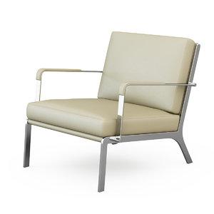 3ds max armchair gilbert