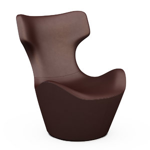 armchair grande papilio 3d model