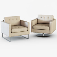 3d model armchair headline chair