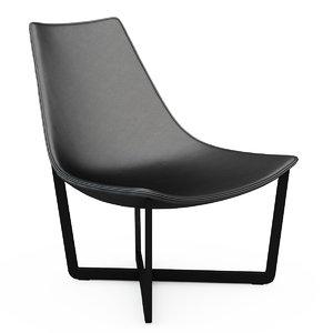3ds armchair jade shahan