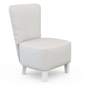 armchair lc 3d max
