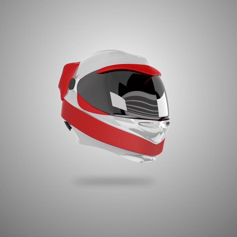 helmet concept 3d fbx