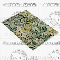 loloi rugs mf-05 multi 3d model