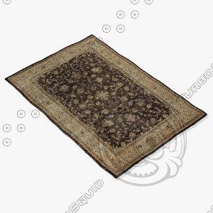 3d loloi rugs my-02 mocha model