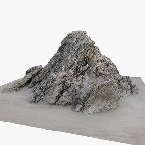 scan rock 3d model