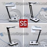 3d model led table lamp