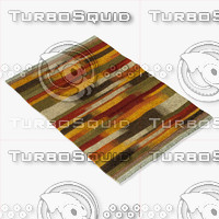 3d model loloi rugs sa-01 multi