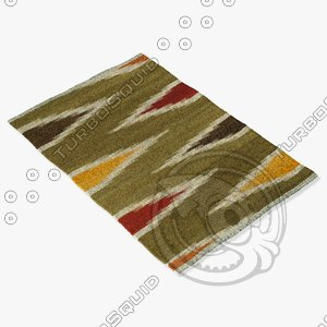 3ds max loloi rugs sa-04 green