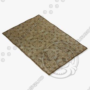 loloi rugs ya-03 beige 3d model