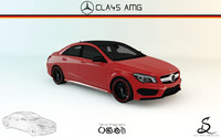 3ds max mercedes-benz cla45 amg
